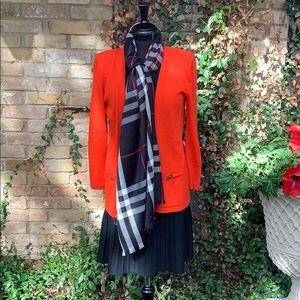 ST. John collection Orange Knit Jacket